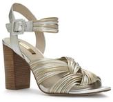 Louise et Cie Kamden – Metallic Twist Sandal
