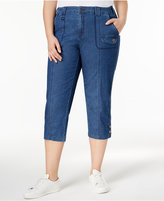 Style&Co. Style & Co Plus Size Capri Cargo Pants, Only at Macy's