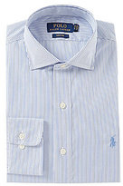 Polo Ralph Lauren Non-Iron Fitted Classic-Fit Spread-Collar Striped Dress Shirt