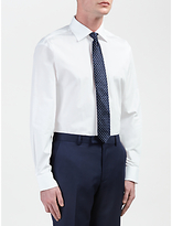 Daniel Hechter Cotton Poplin Tailored Fit Shirt, White