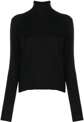 Maison Margiela M-embroidered rollneck jumper
