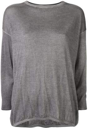 Avant Toi long-sleeve fitted top