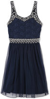 Speechless Beaded Embellished Dress, Big Girls (7-16)