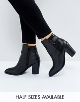 Asos EFFINA Leather Ankle Boots