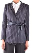 Pinko Women's Blue Acetate Jacket.