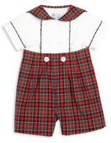 Florence Eiseman Baby's Two-Piece Double-Breasted Shirt & Plaid Shorts Set
