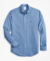 Brooks Brothers Regent Fit Brushed Gingham Sport Shirt