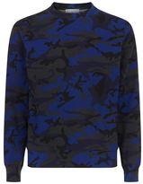 Sandro Camouflage Sweater