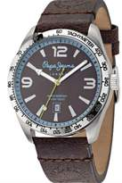 Pepe Jeans Men's Watch Joshua Analog Quartz Leather R2351119003