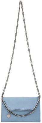 Stella McCartney Blue Mini Falabella Shoulder Bag