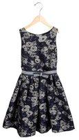 MonnaLisa Girls' Floral Pattern Sleeveless Dress