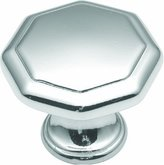 Hickory Hardware P14004-26 1.12 In. Conquest Polished Chrome Cabinet Knob