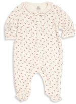Petit Bateau Baby's Cotton Blend Printed Footie