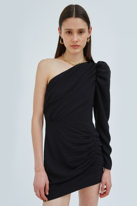 C/Meo PROVOKE LONG SLEEVE DRESS Black
