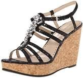 Adrienne Vittadini Footwear Women's Cadenza Wedge Sandal