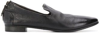 Marsèll Cracked Effect Slip-On Loafers