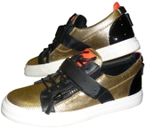 Giuseppe Zanotti Low trainers in leather