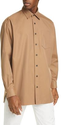 Acne Studios Atlent Longline Button-Up Shirt