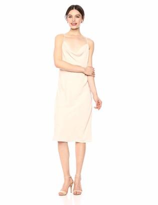 C/Meo Women's Sleeveless Short Mini Slip Dress