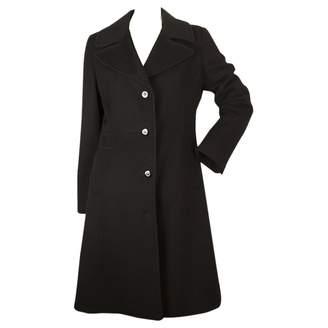 Bill Blass Black Wool Coat for Women