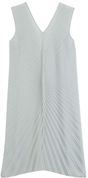 Maison Margiela Pleated Crepe Dress