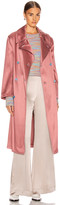 Sies Marjan Sigourney Trench Coat in Blush | FWRD