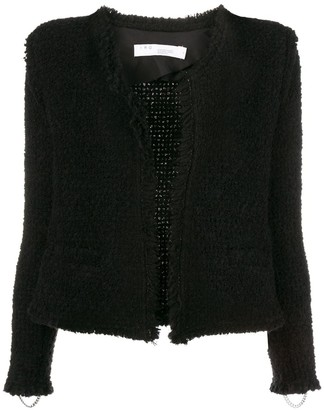 IRO Fitted Shearling Jacket