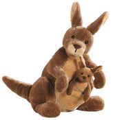 Gund NEW Jirra Kangaroo with Joey Plush Toy
