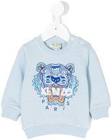 Kenzo Tiger sweatshirt - kids - Cotton - 3 mth