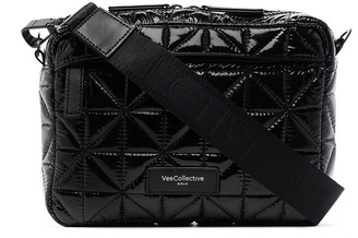 VeeCollective Quilted Crossbody Bag