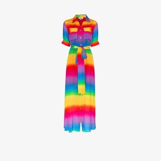 All Things Mochi Iska rainbow shirt dress