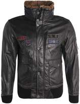 Gipsy CRUISE Leather jacket dunkelbraun