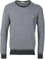 Etro contrasting crew neck sweater