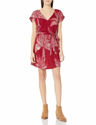 Roxy Women's Peace of Mind Wrap Dress
