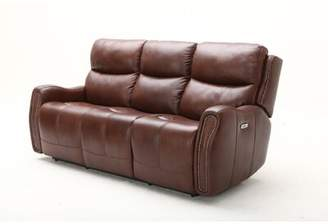 Ellington Leather Goods Southern Motion Leather Reclining Sofa Southern Motion