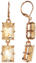 Vince Camuto Double Emerald-Cut Drop Earrings