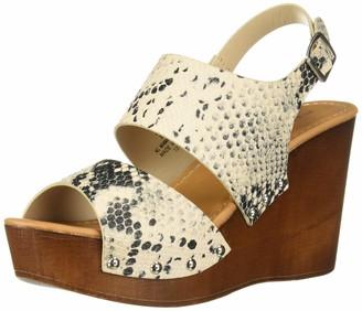 Madden-Girl Women's Driiggs Wedge Sandal