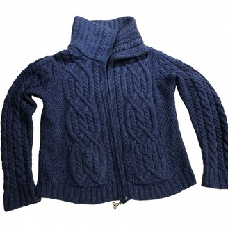 Aran Crafts Blue Wool Knitwear for Women