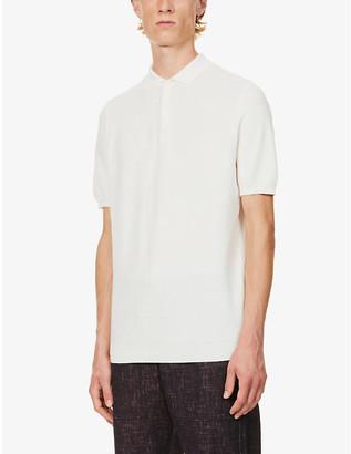Sunspel Cotton-knit polo shirt