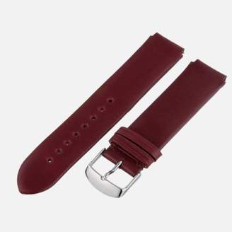 Philip Stein Teslar Watch Bands-Strap 2-CIWI 20mm Wine Italian Calf Watch Strap