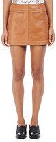 Loewe Women's Lambskin Miniskirt
