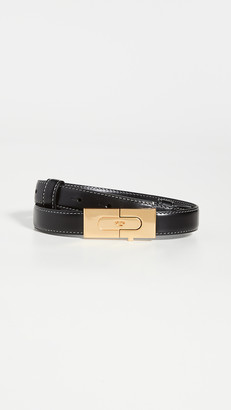 Tory Burch Lee Radziwill Lock Belt