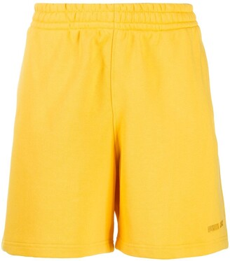 Adidas By Pharrell Williams Embroidered Logo Track Shorts