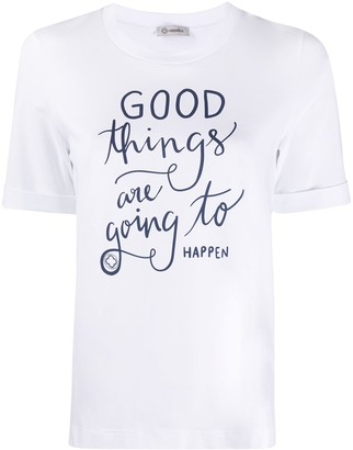 Peserico 'Good Things' print T-shirt