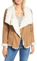 BB Dakota Women's Fawn Faux Shearling Jacket