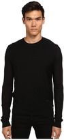 DSQUARED2 Zipper Detail Crew Neck Sweater