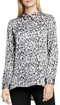 Vince Camuto Leopard Print Shirt