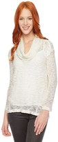Splendid Fireside Cowl Neck Tunic