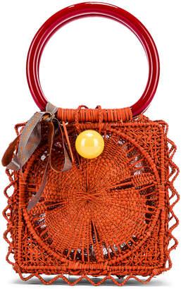 Silvia Tcherassi for FWRD Cadence Handbag in Orange | FWRD