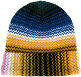 Missoni zigzag knitted beanie - women - Acrylic/Wool - One Size